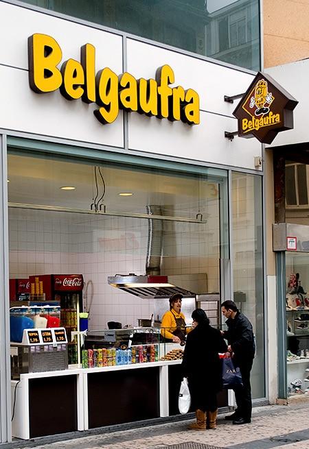 Stand de gaufres Belgaufra